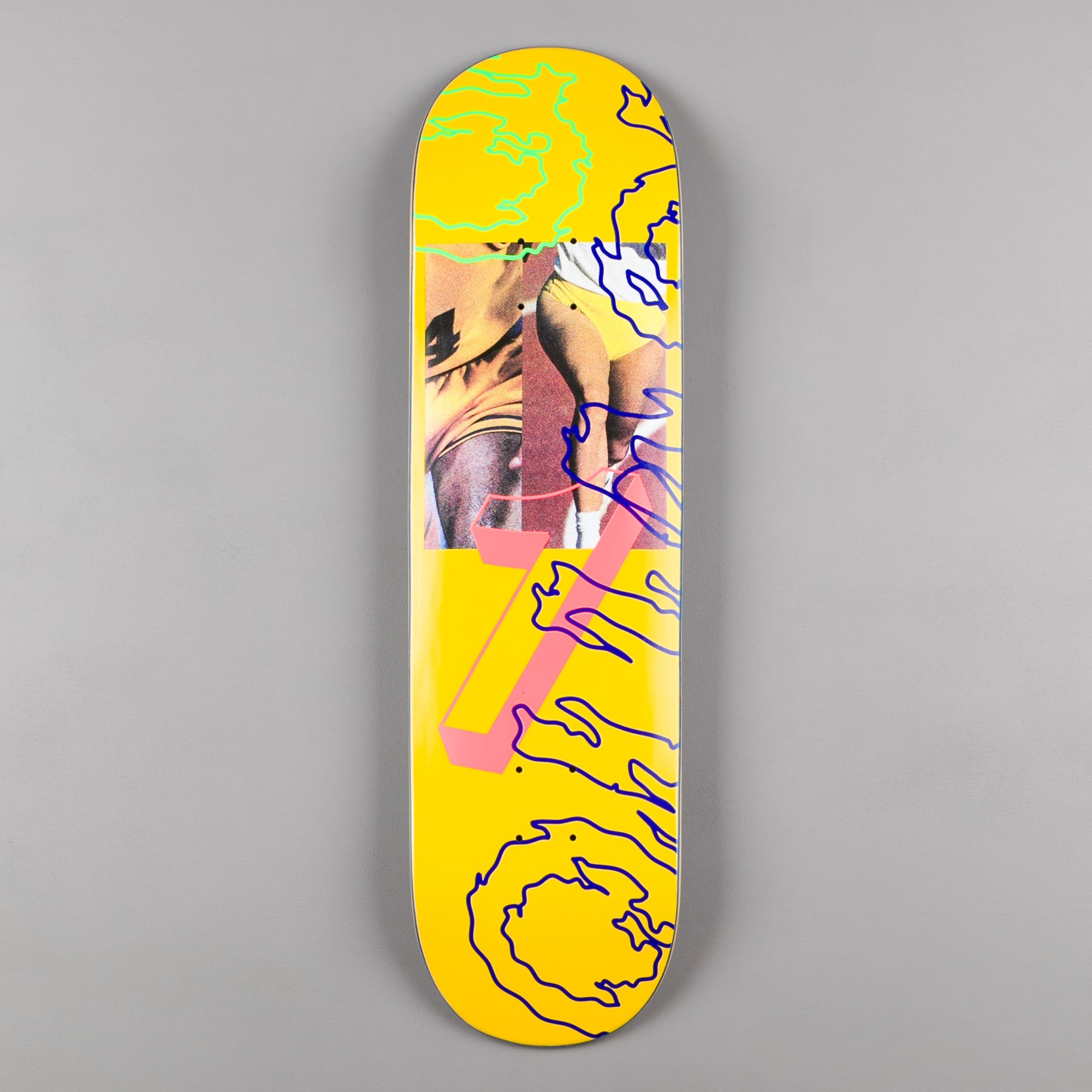 "Quasi Skateboards Games Deck - 8.5"" - Yellow"