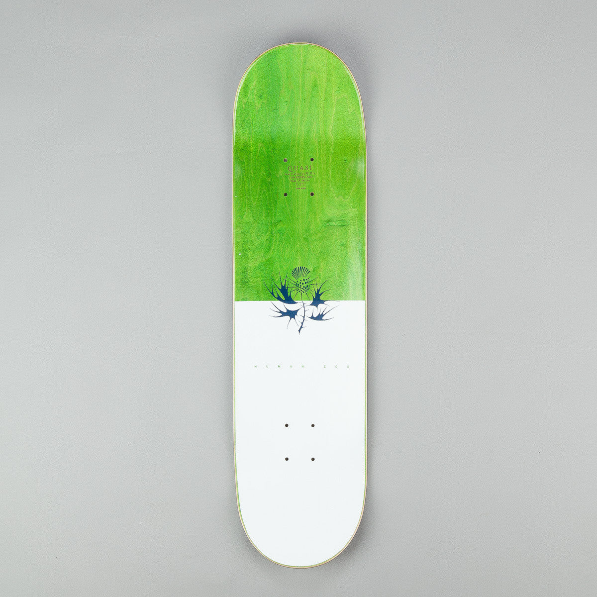 Quasi Skateboards Johnson 'Human' [One] Deck - White 8.375""