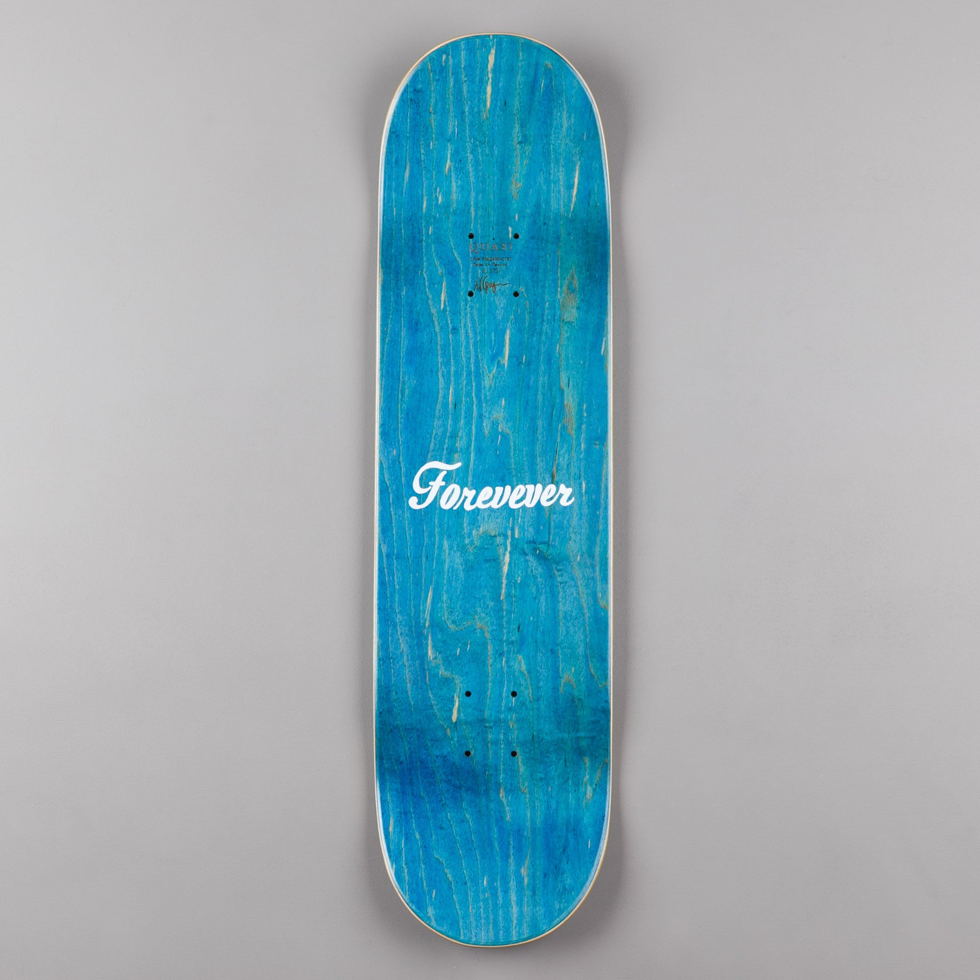 Quasi Skateboards Lewis (One) Deck - Blue - 8.375""