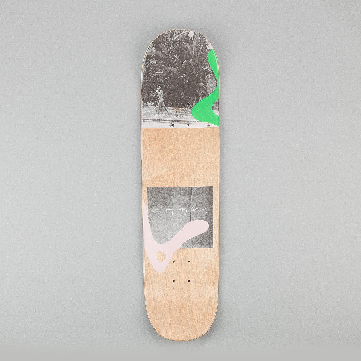 Quasi Skateboards Lost Deck - Natural 8.25""