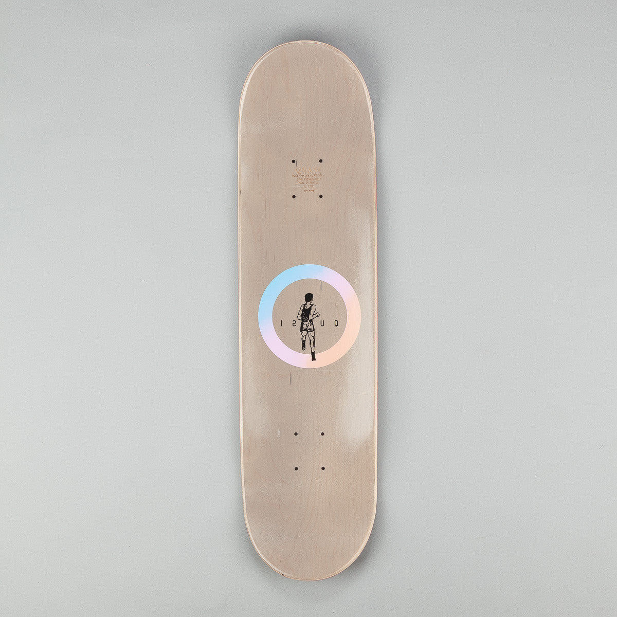 Quasi Skateboards Run [Two] Deck - Greywash 8.375""