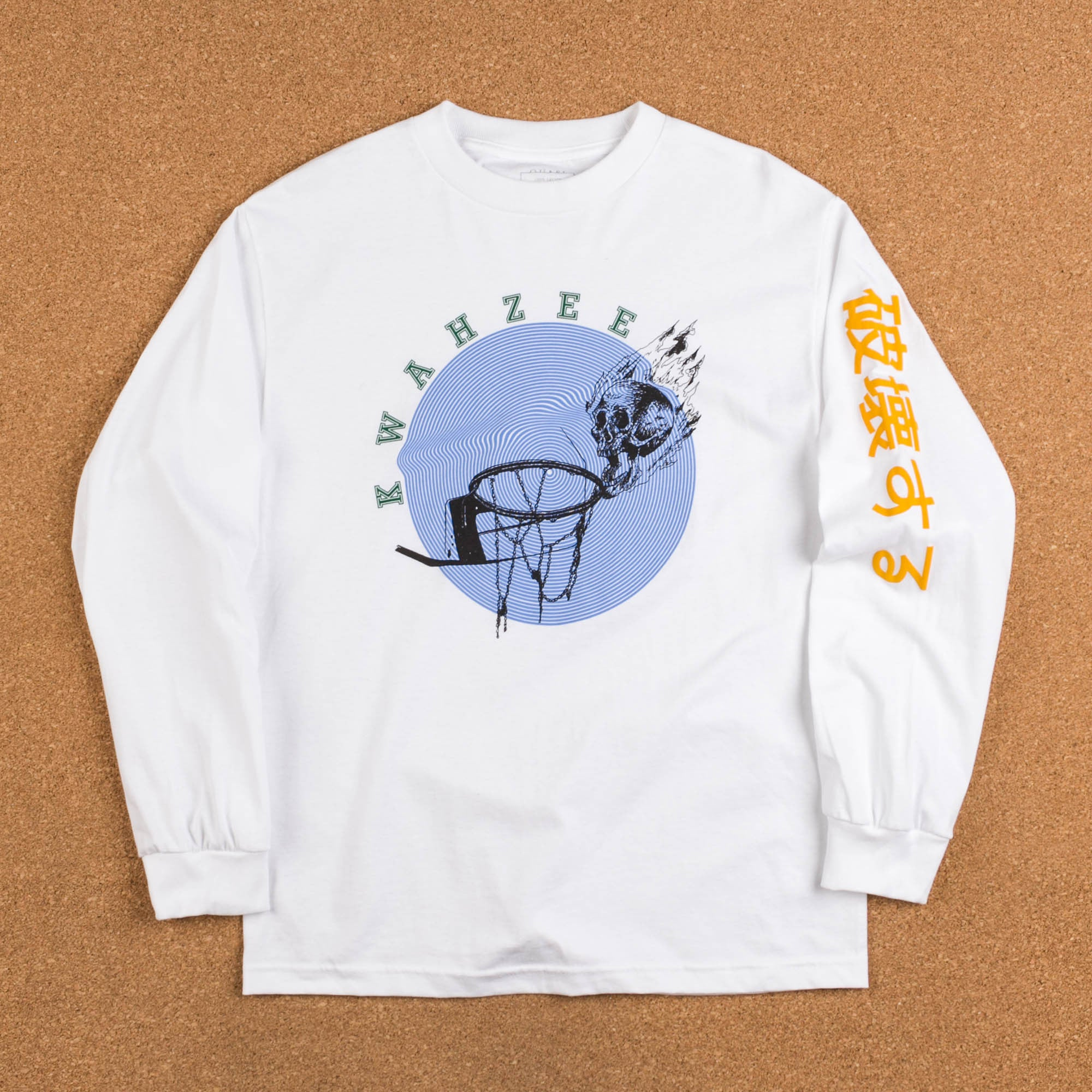 Quasi Skateboards Skynet Long Sleeve T-Shirt - White
