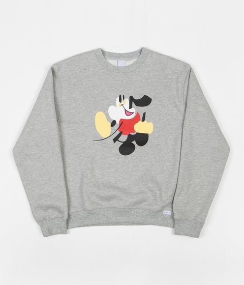 Quasi Walter Crewneck Sweatshirt - Heather Grey