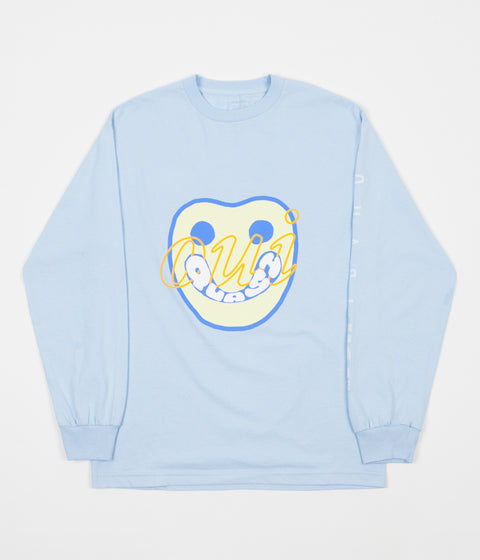 Quasi Yes Long Sleeve T-Shirt - Powder Blue
