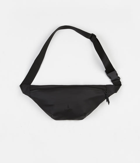 Rains Bum Bag - Black