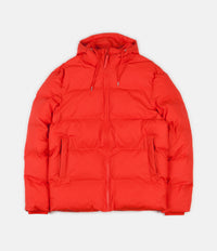 Rains Puffer Jacket  - Red
