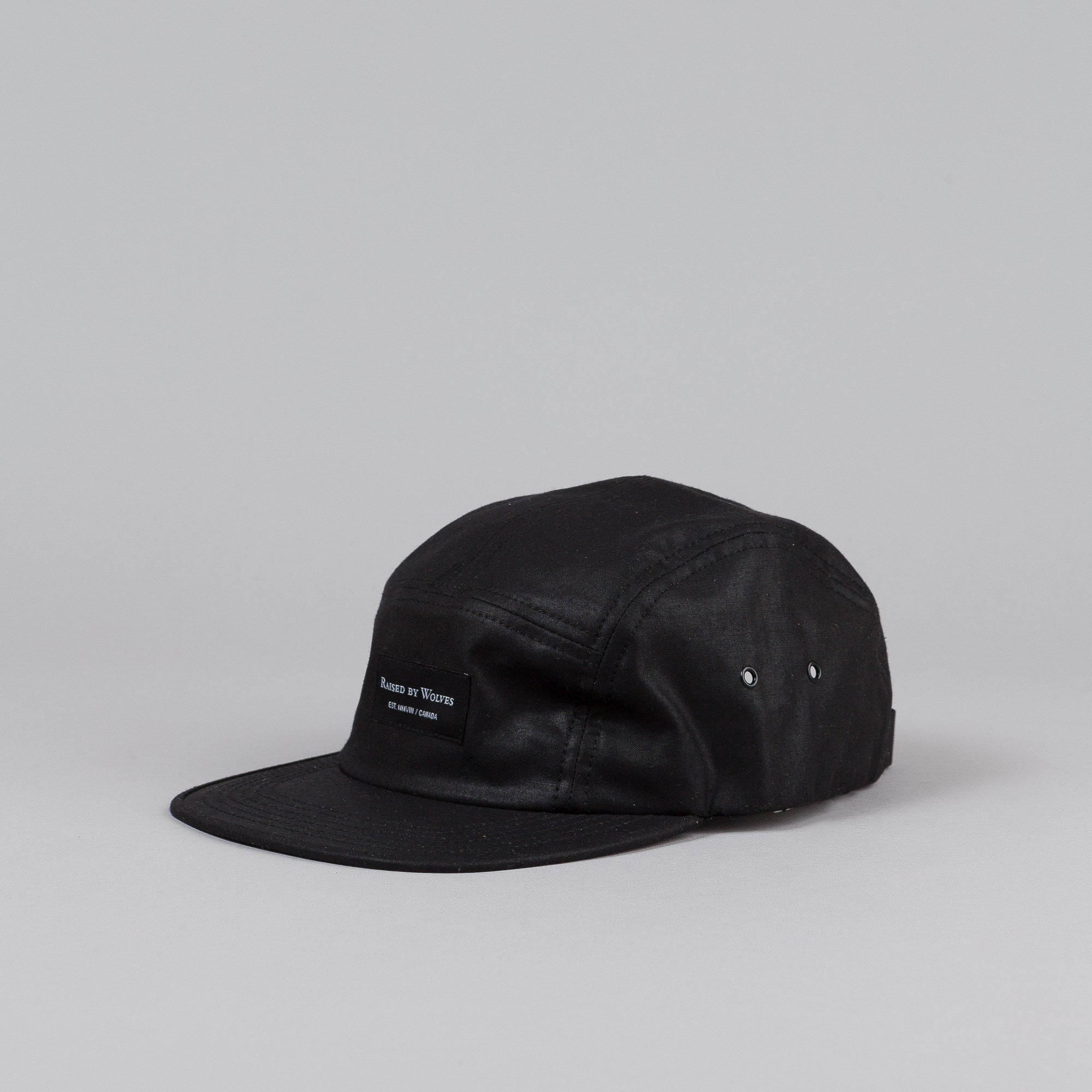 Raised By Wolves Algonquin Camp Cap Black
