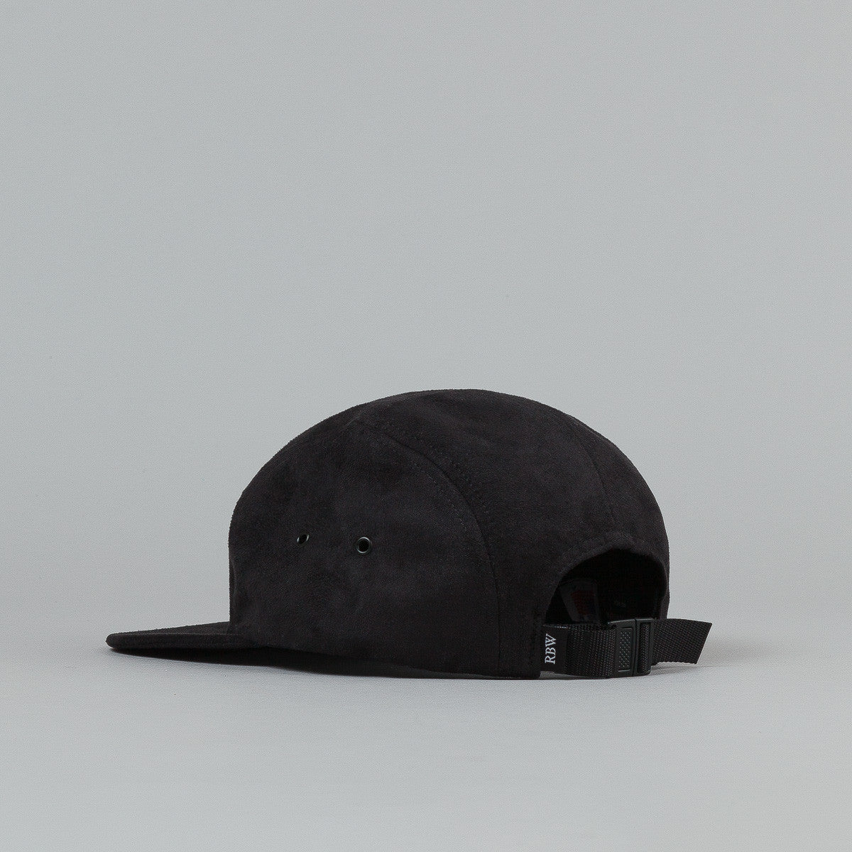 Raised By Wolves Algonquin Camp Cap - Black Microsuede