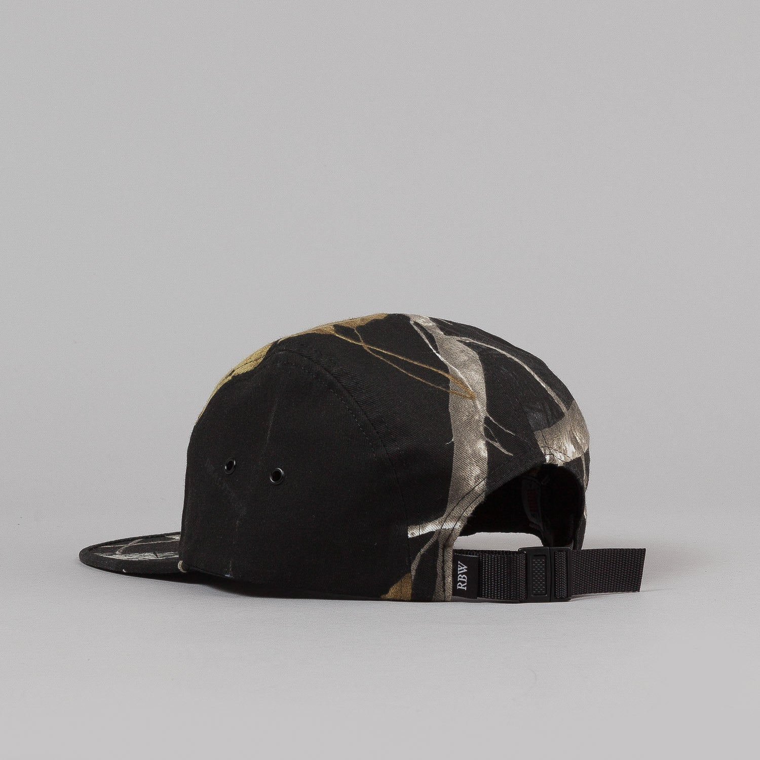 Raised By Wolves Algonquin Camp Cap - Camouflage Twill Realtree Black