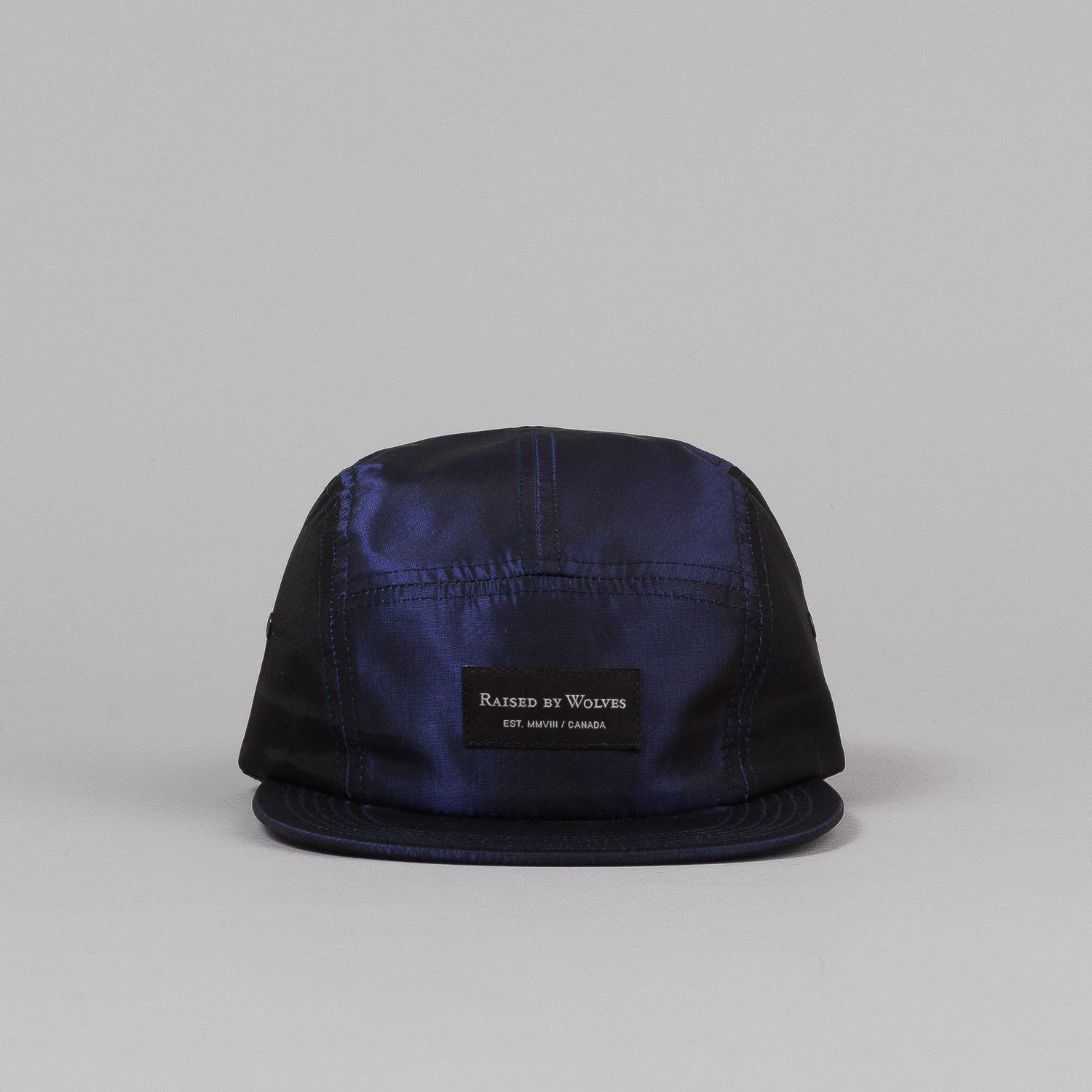 Raised By Wolves Algonquin Camp Cap - Chameleon Purple
