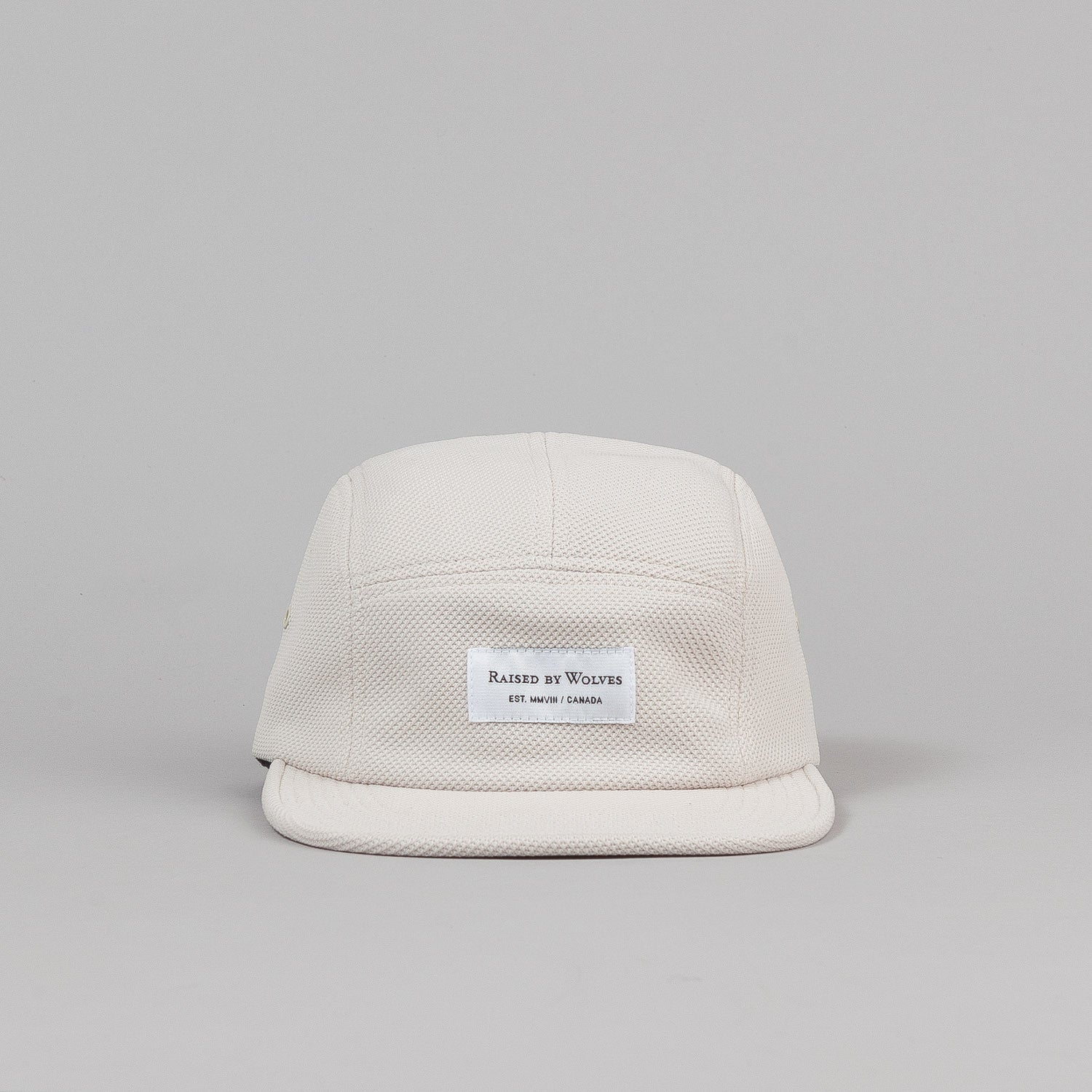 Raised By Wolves Algonquin Camp Cap - Diamond Knit Stone