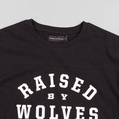 Raised By Wolves College Football Top - Black