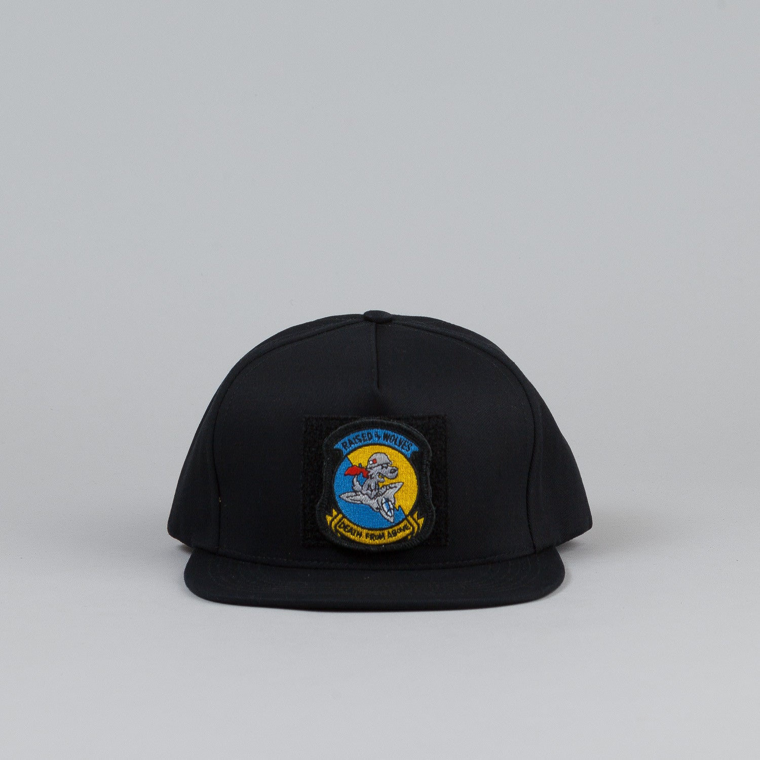 Raised By Wolves Death from Above Snapback Cap Black
