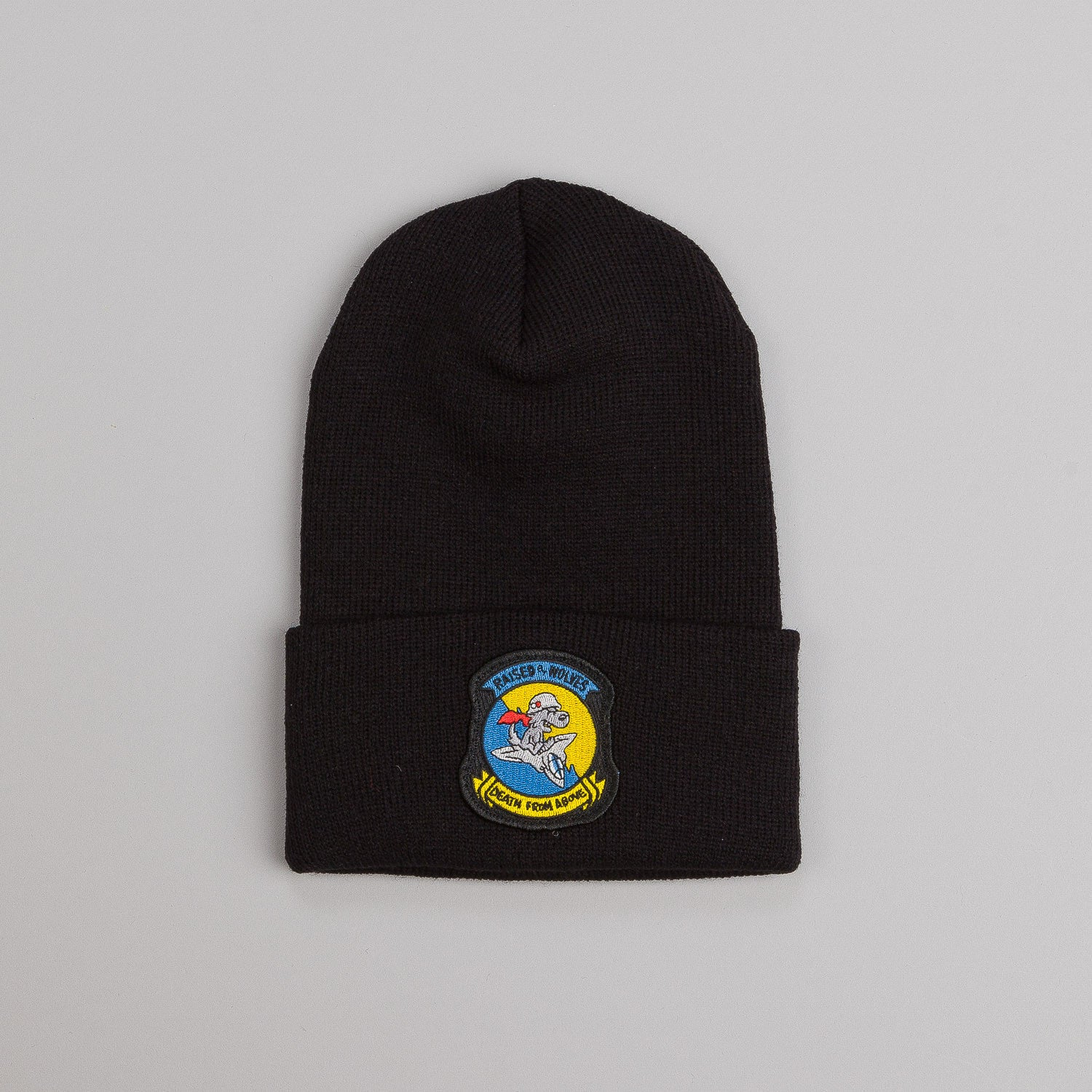 Raised By Wolves Death From Above Watch Cap Black