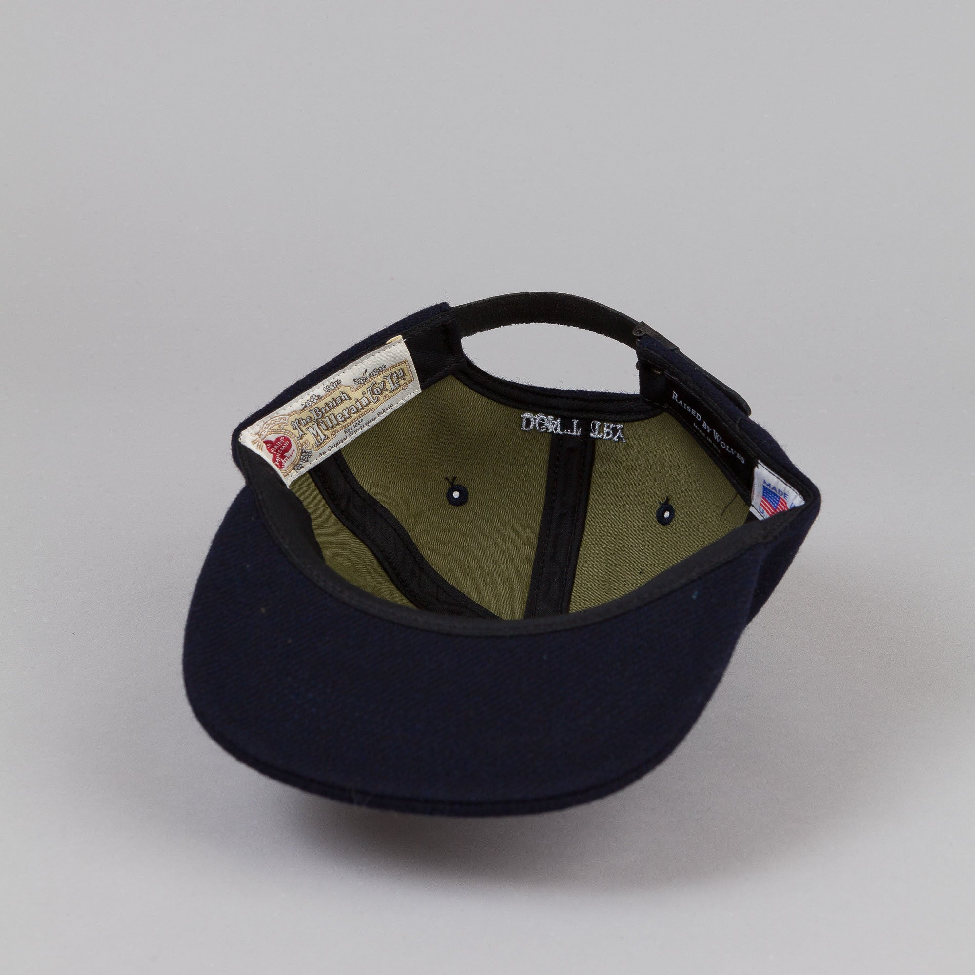 Raised By Wolves Don't Try Polo Cap Navy / Olive