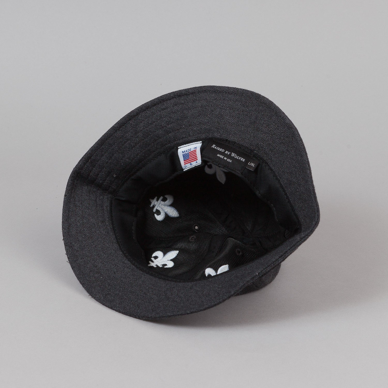 Raised By Wolves FDL Bell Hat - Dark Herringbone