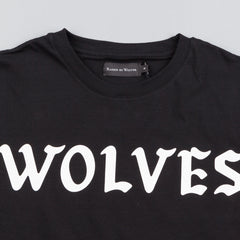 Raised By Wolves Flock Long-Sleeve T-Shirt - Black