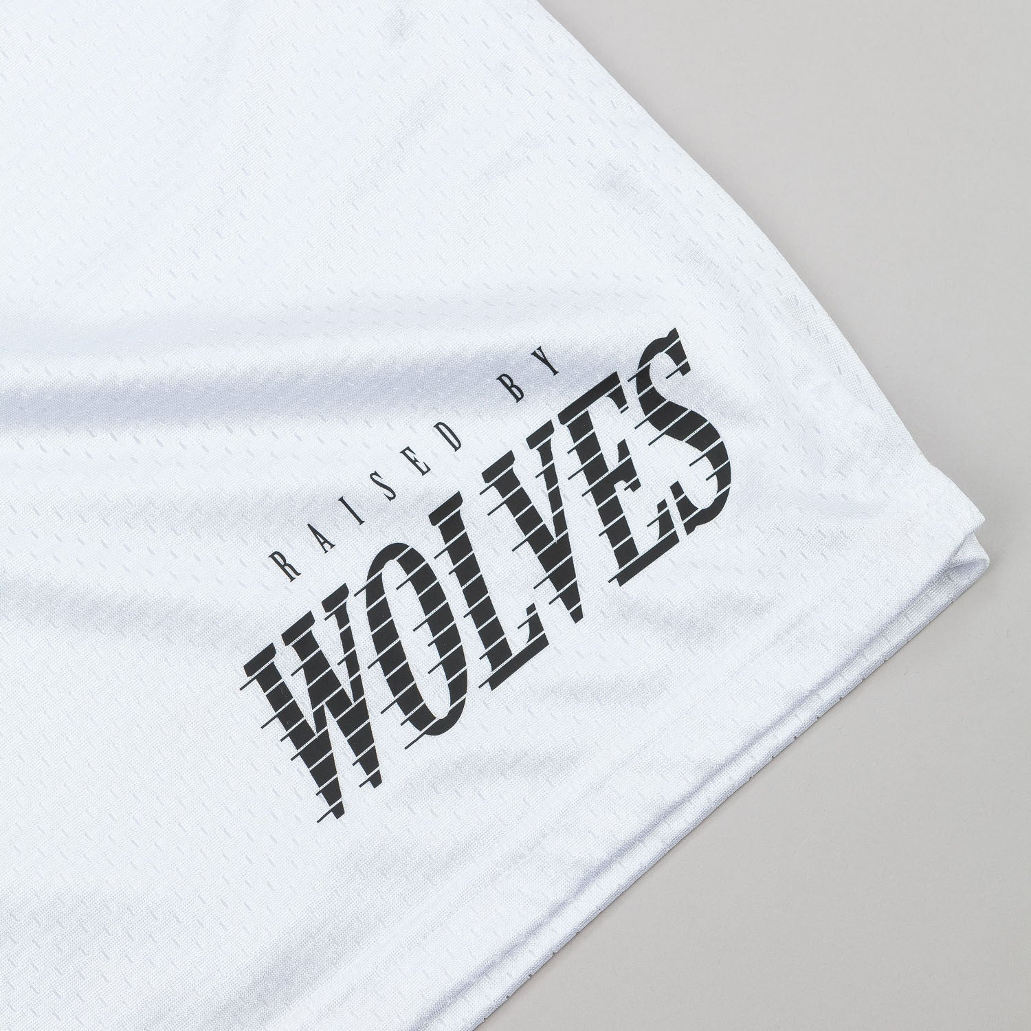 Raised By Wolves Full Tilt Mesh Basketball Shorts - White