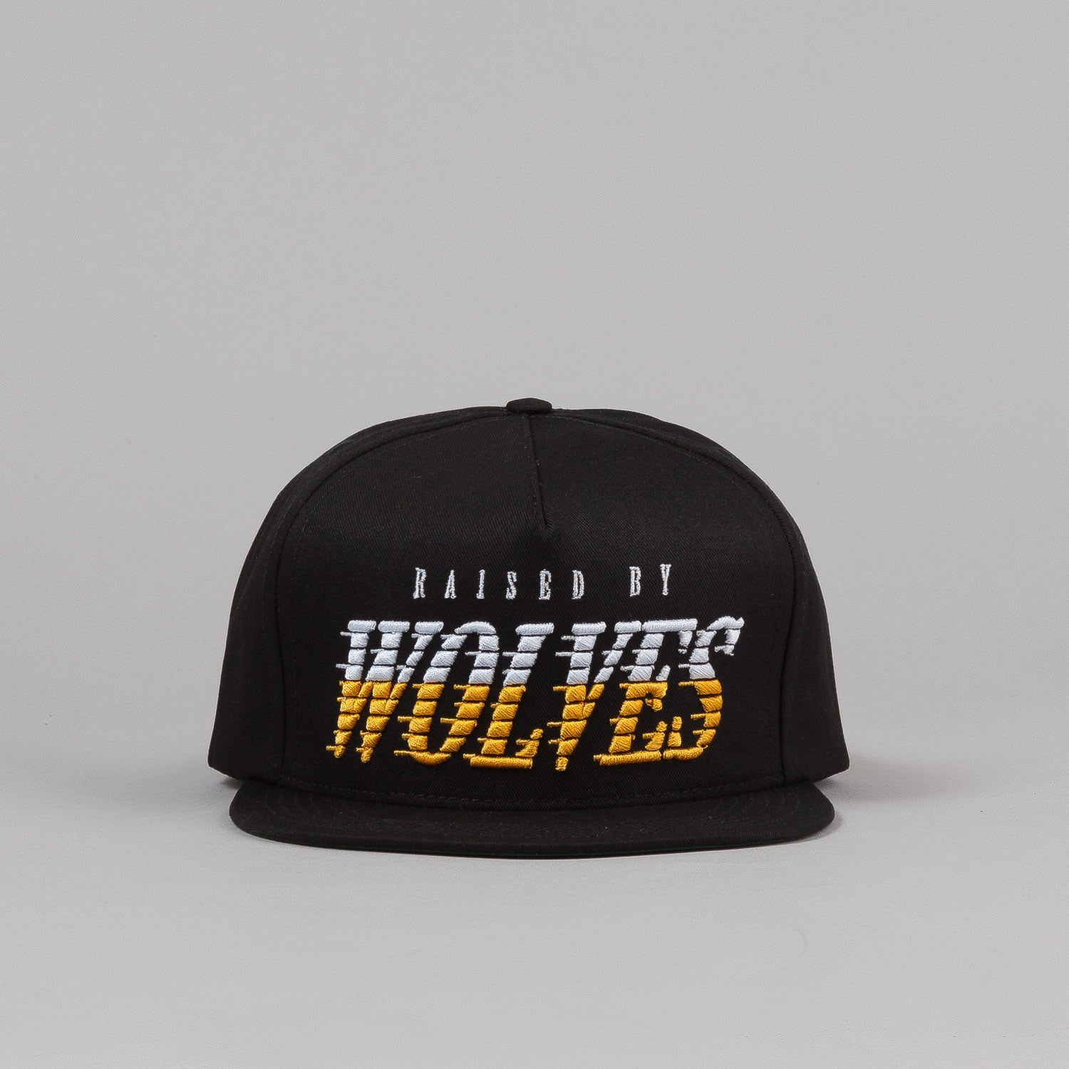 Raised By Wolves Full Tilt Snapback Cap - Black