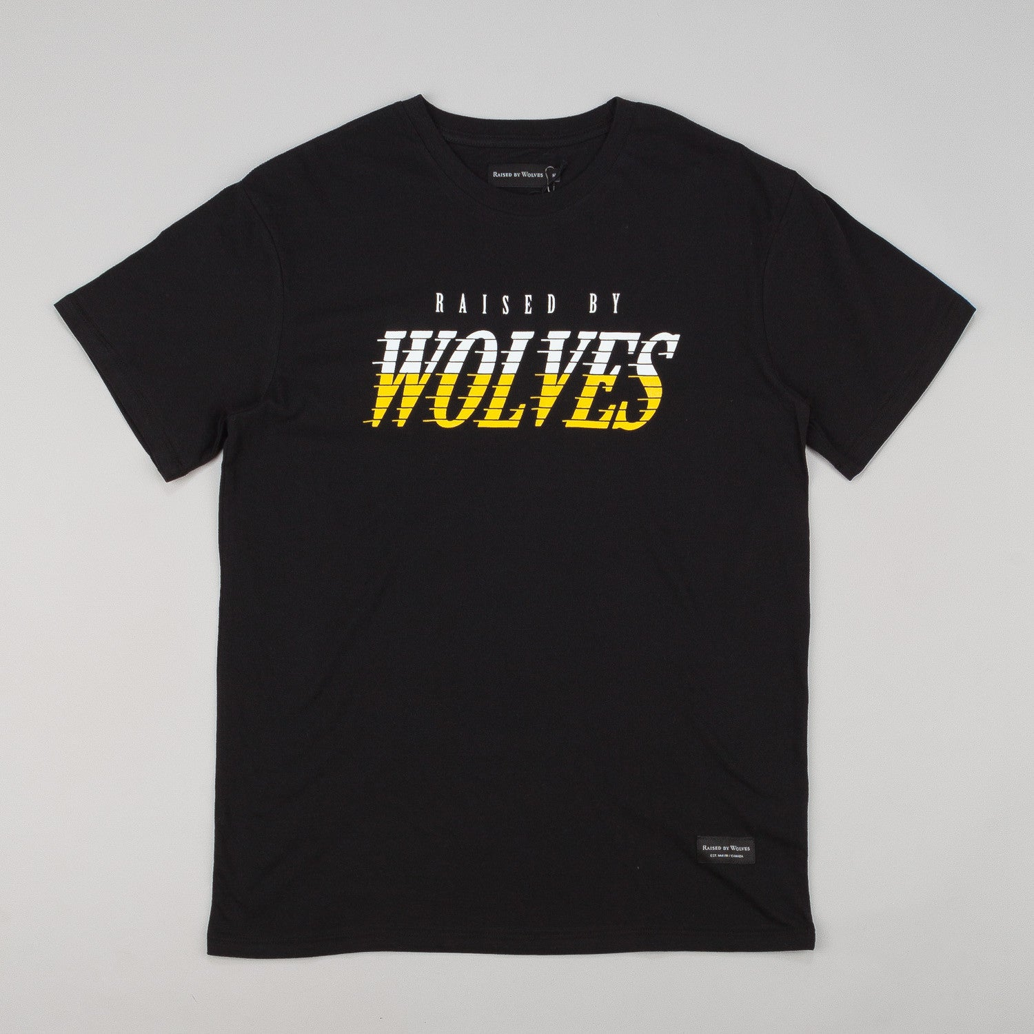 Raised By Wolves Full Tilt T-Shirt - Black