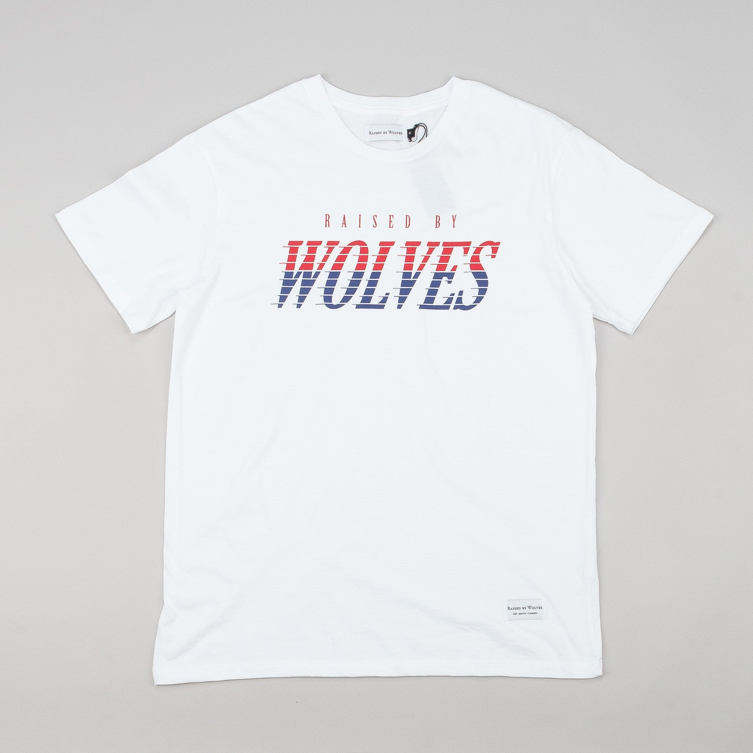 Raised By Wolves Full Tilt T-Shirt - White
