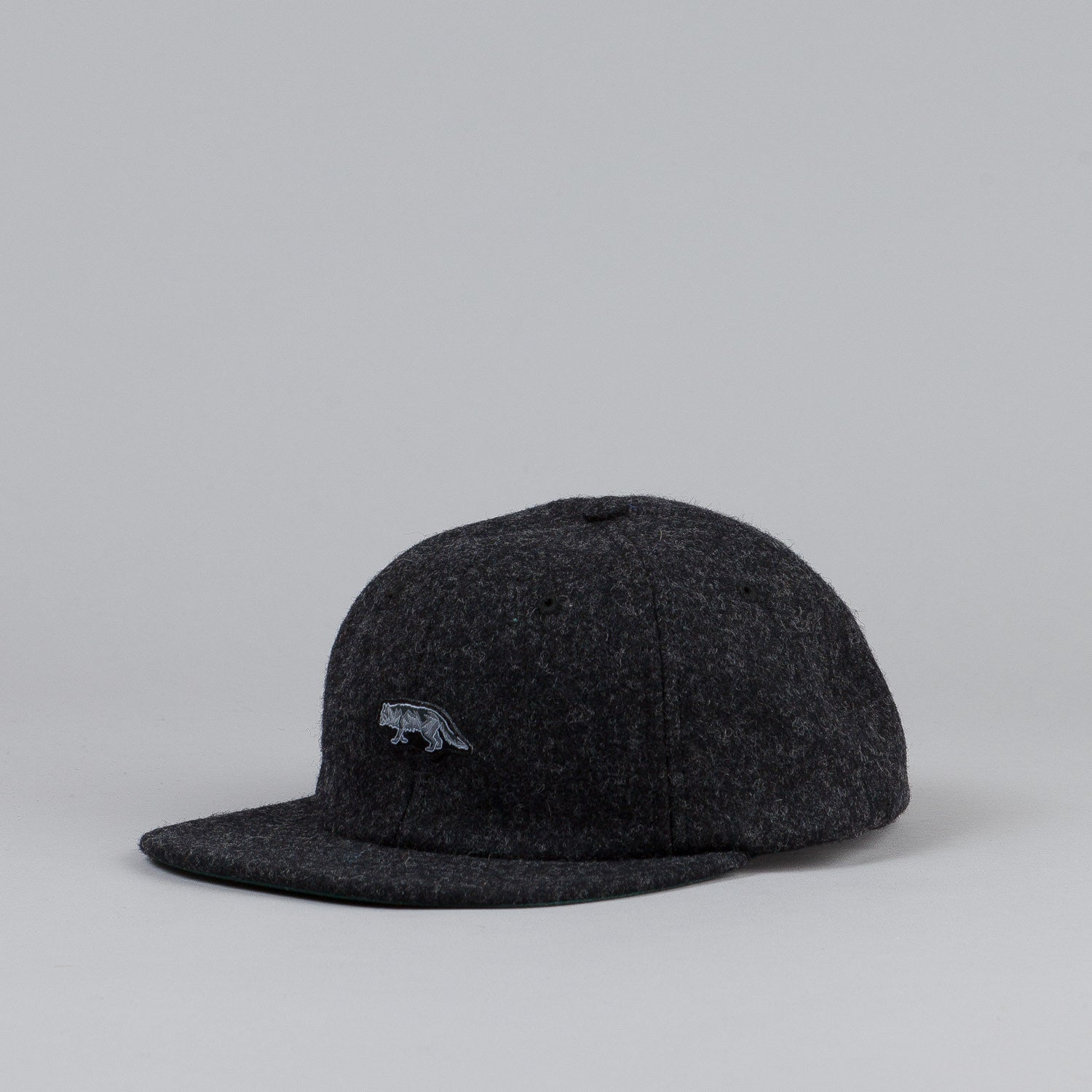 Raised By Wolves Geowulf Polo Cap Charcoal Woolrich