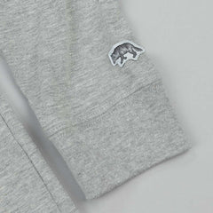 Raised By Wolves Geowulf Long Sleeve T-Shirt - Grey
