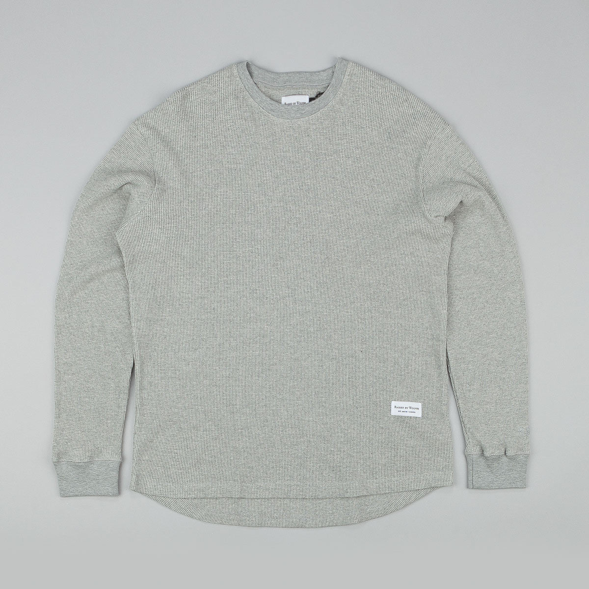 Raised By Wolves Jasper Thermal Shirt - Grey