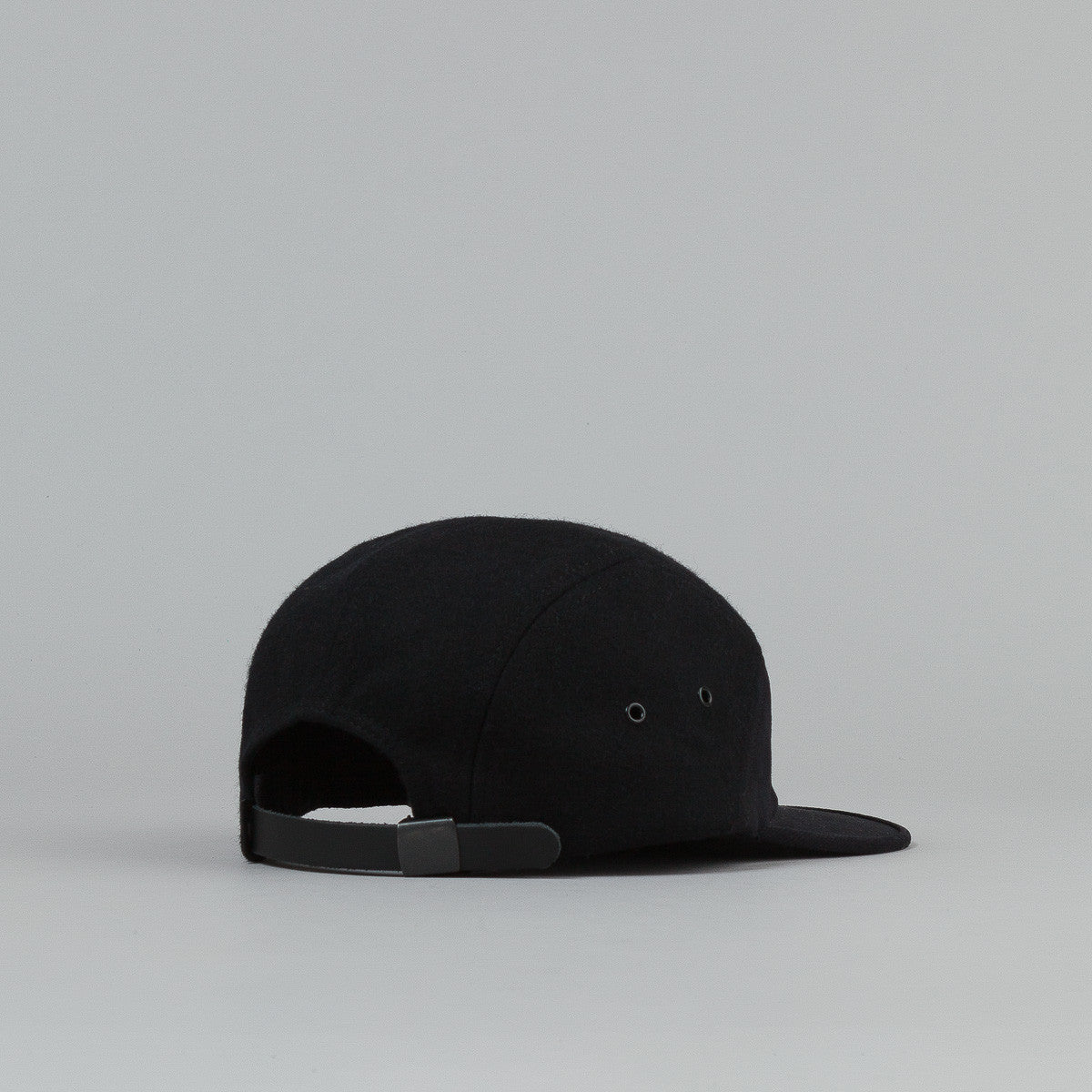 Raised By Wolves Laurentian 7 Panel Camp Cap - Black