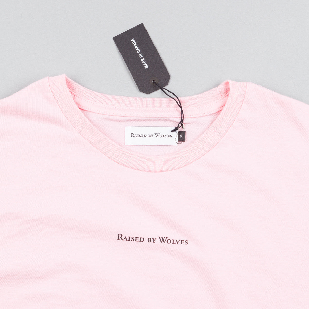 Raised By Wolves Micrologo T-Shirt - Pink