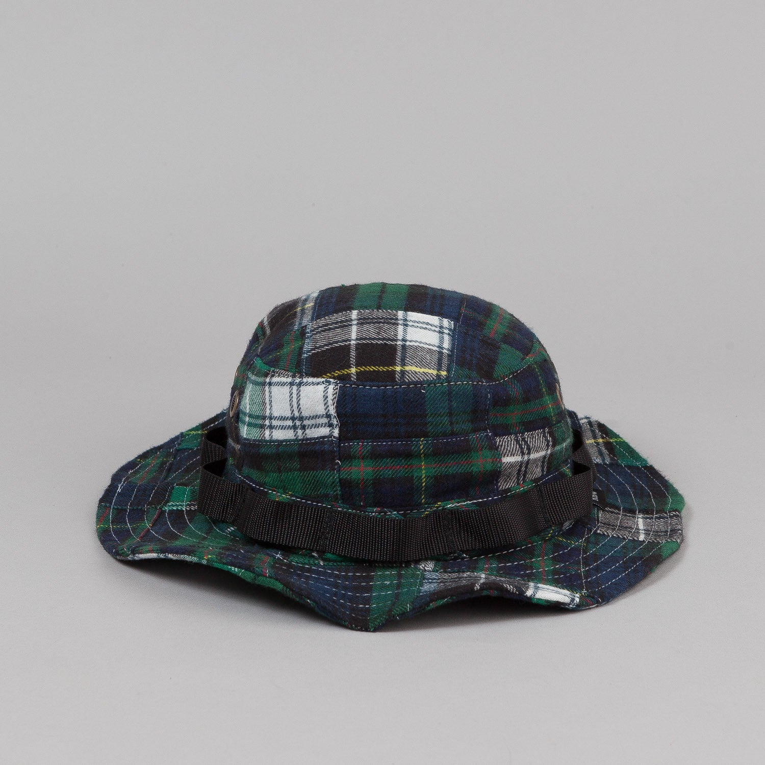 Raised By Wolves Petawawa Boonie Hat - Patchwork Dark Plaid