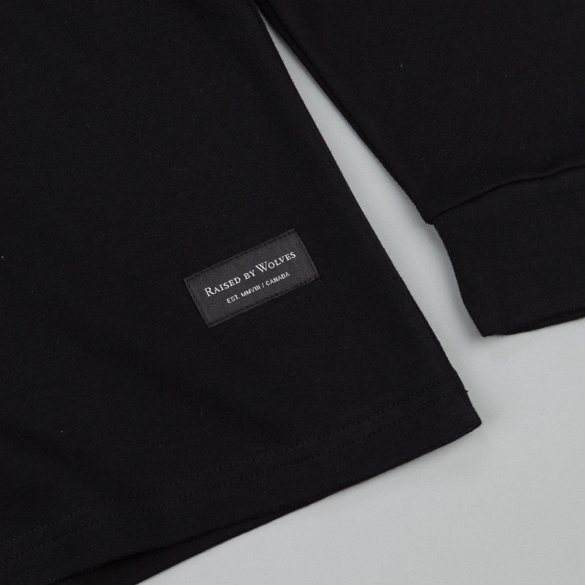 Raised By Wolves Peyto Turtleneck - Black