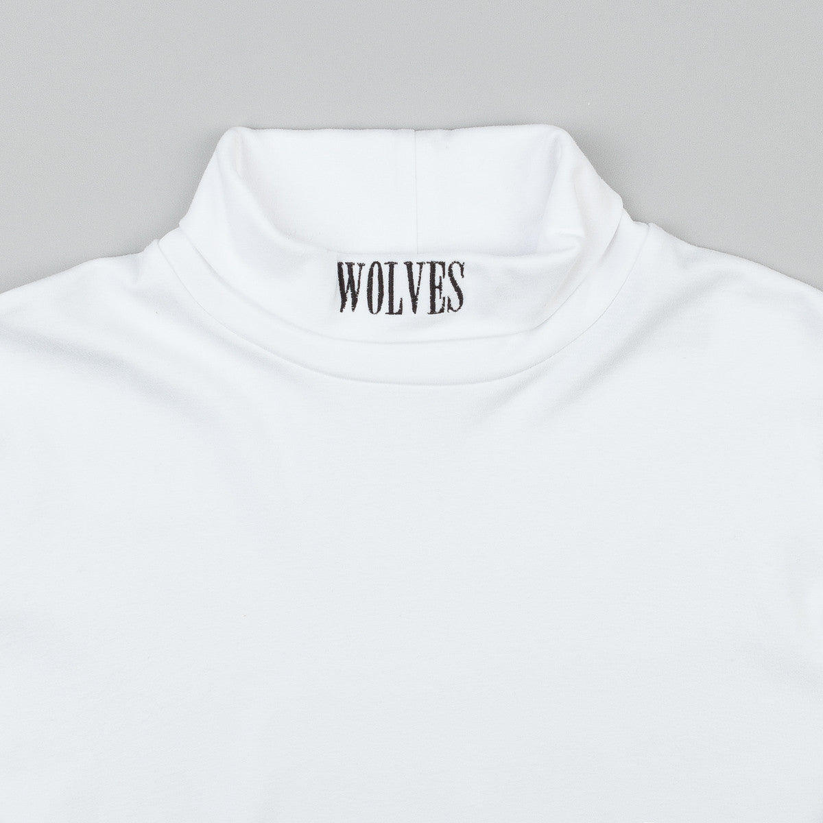 Raised By Wolves Peyto Turtleneck - White