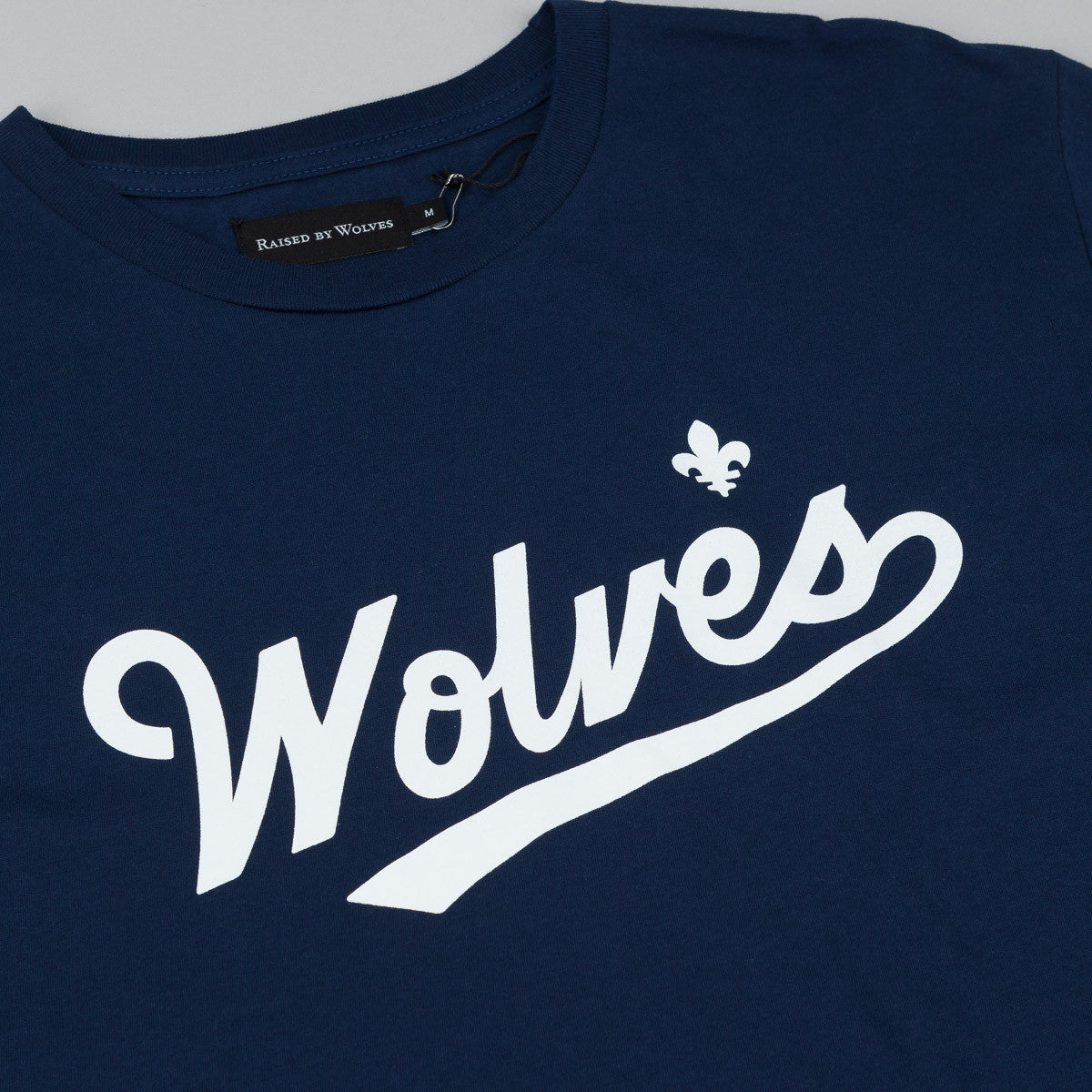 Raised By Wolves Raines T-Shirt - Navy Blue