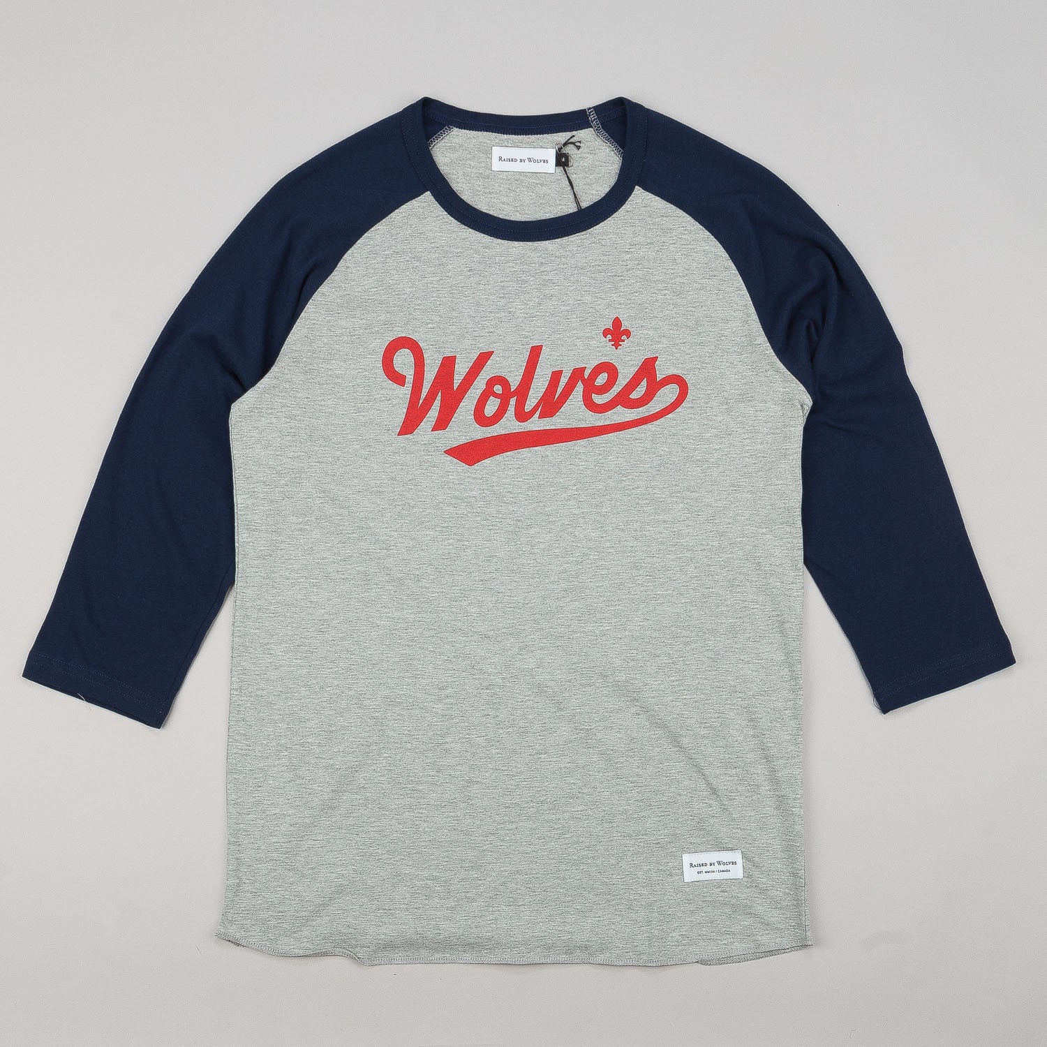 Raised By Wolves Raines Warm-Up 3/4 Sleeve Raglan T-Shirt