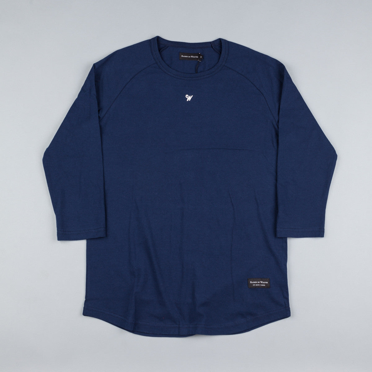 Raised By Wolves Raines Warm-Up Shirt - Navy