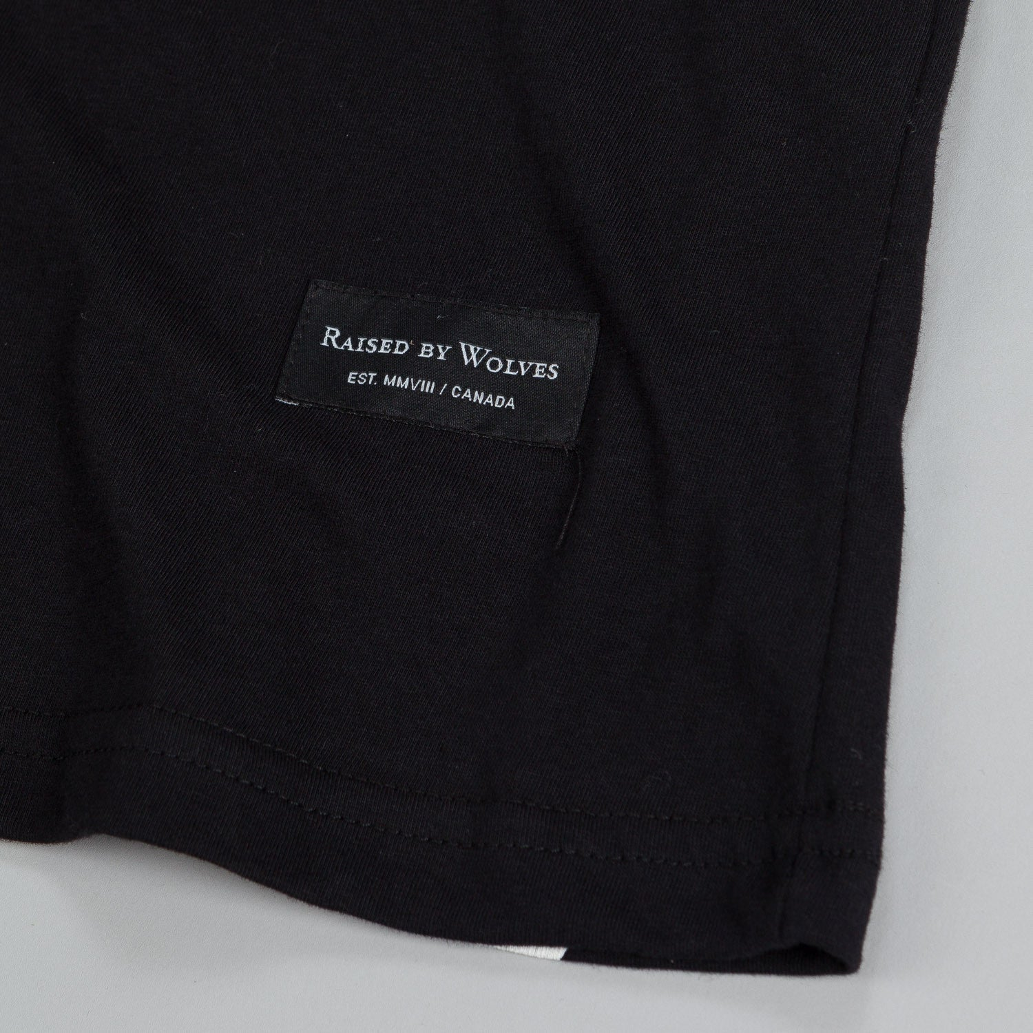 Raised By Wolves RXW T Shirt Black