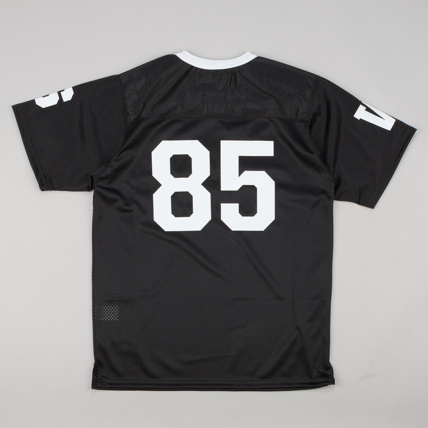 Raised By Wolves Short Sleeve Football Jersey - Black Dazzle