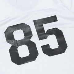 Raised By Wolves Short Sleeve Football Jersey - White Dazzle