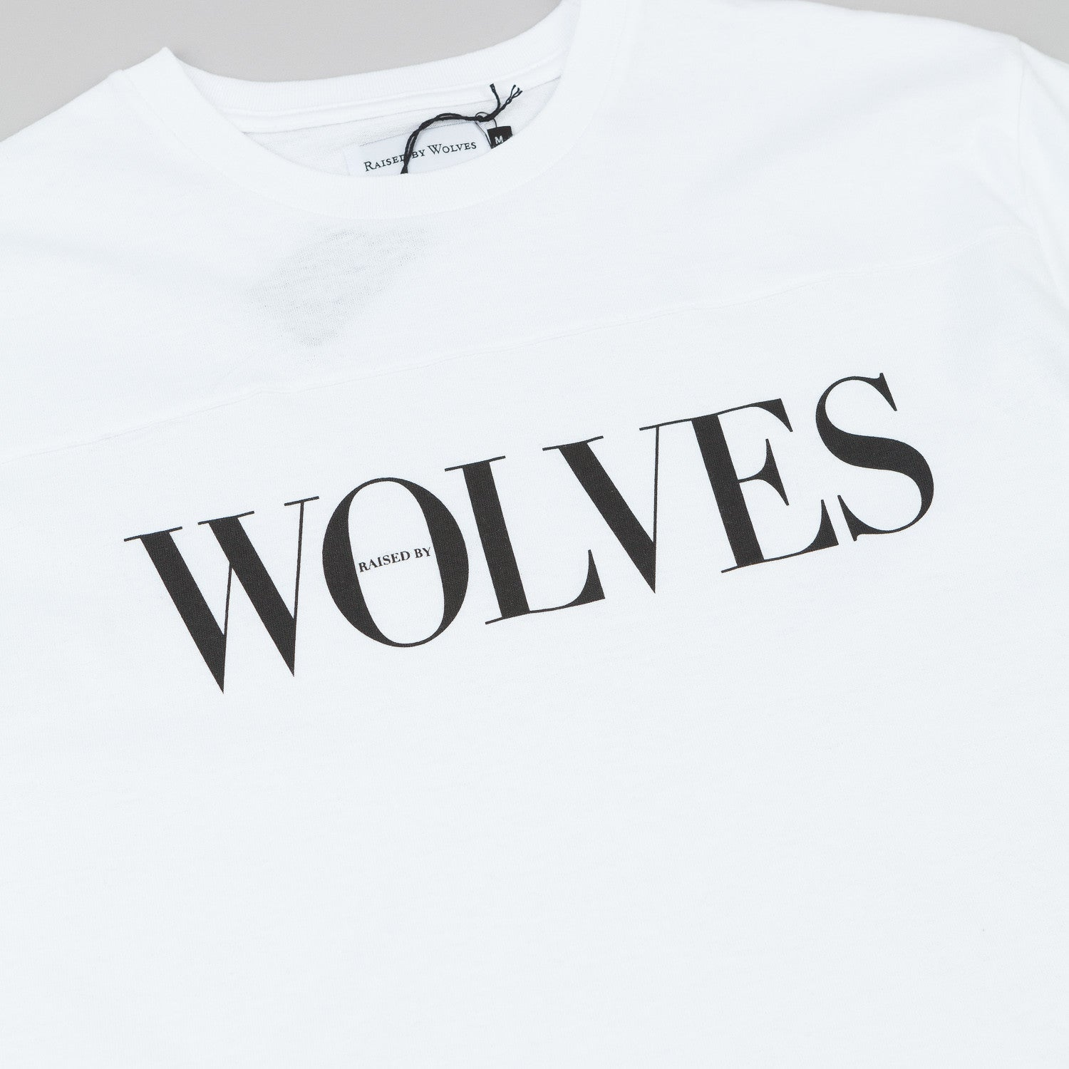 Raised By Wolves September Football T-Shirt - White