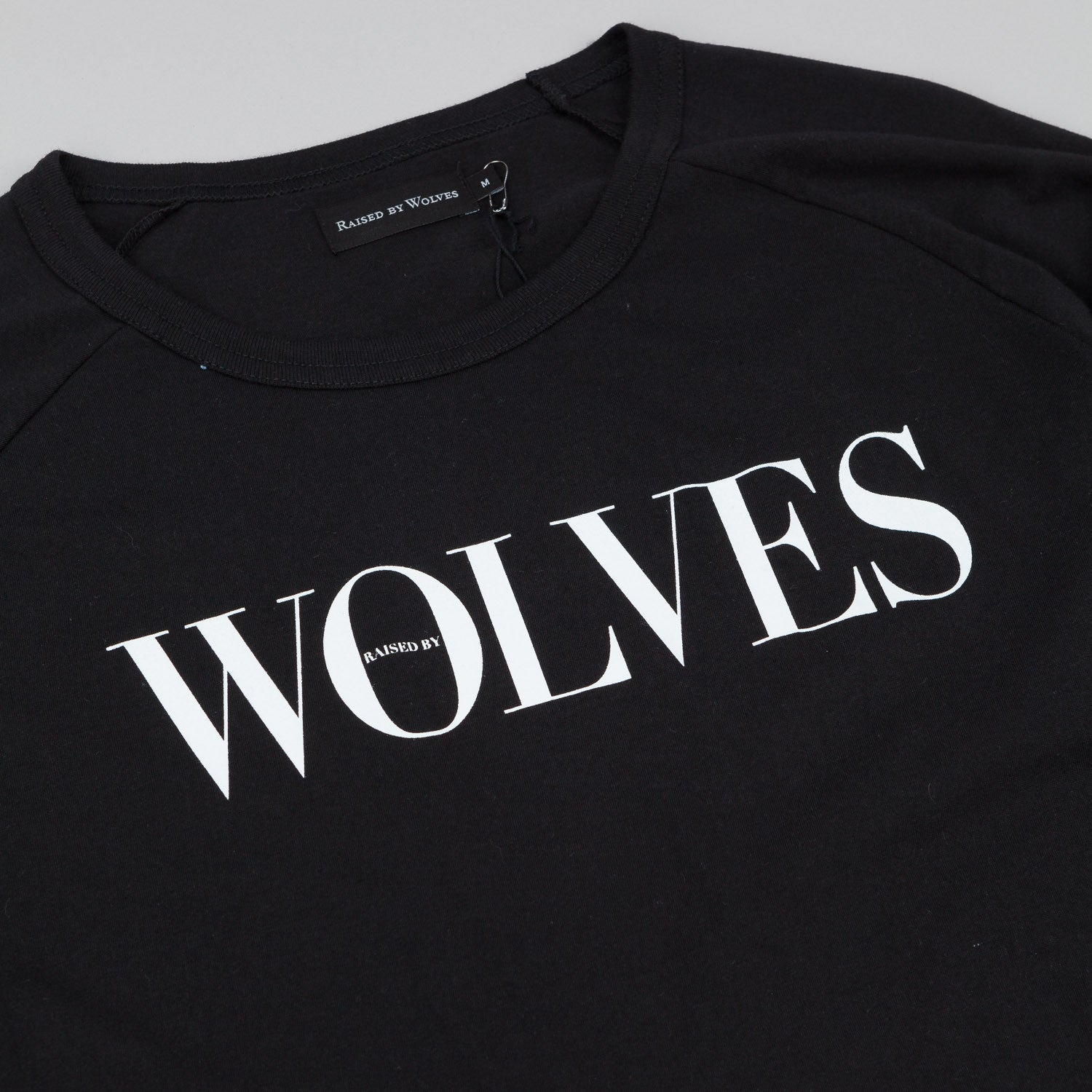Raised By Wolves September Warm-Up 3/4 Sleeve Raglan T-Shirt - Black