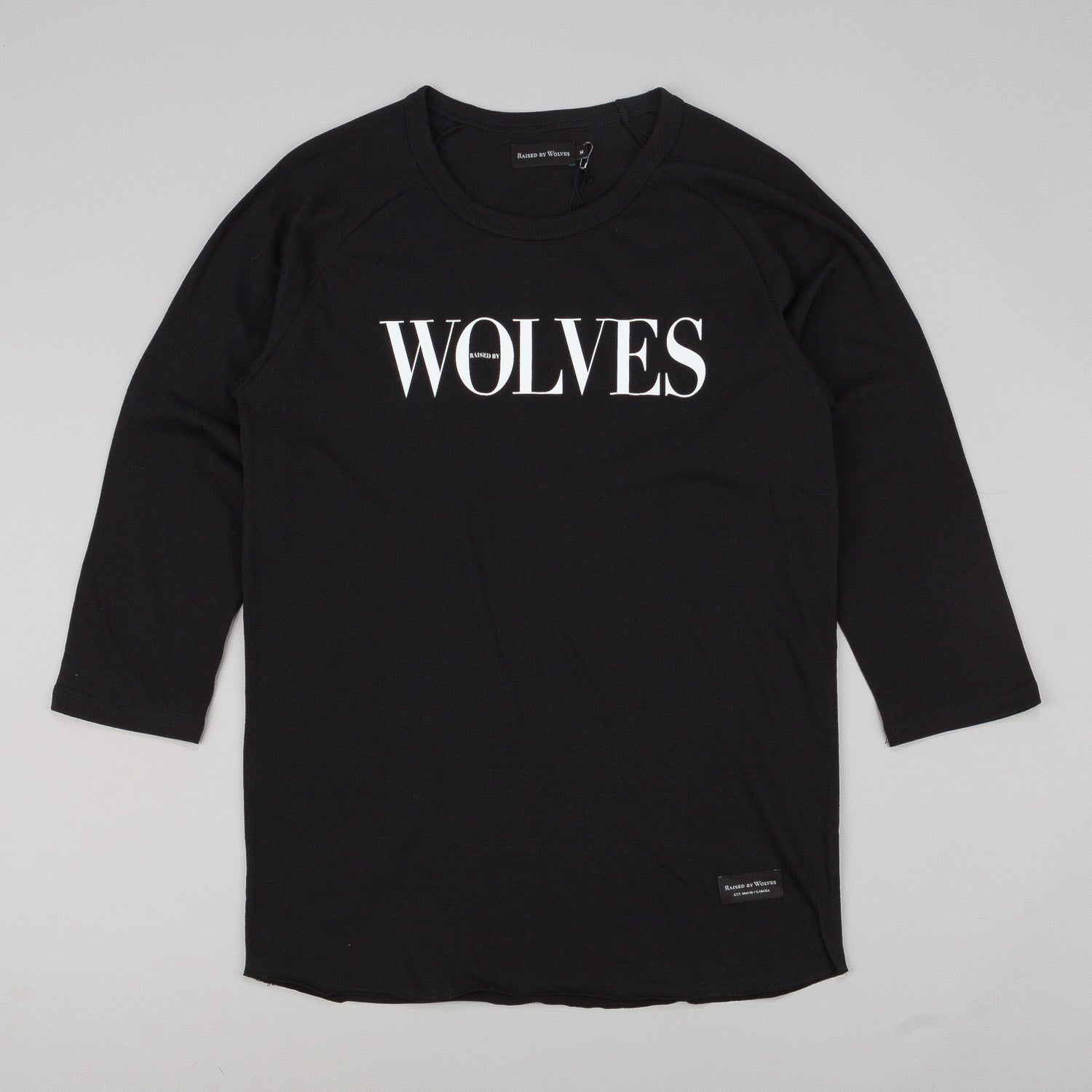 Raised By Wolves September Warm-Up 3/4 Sleeve Raglan T-Shirt