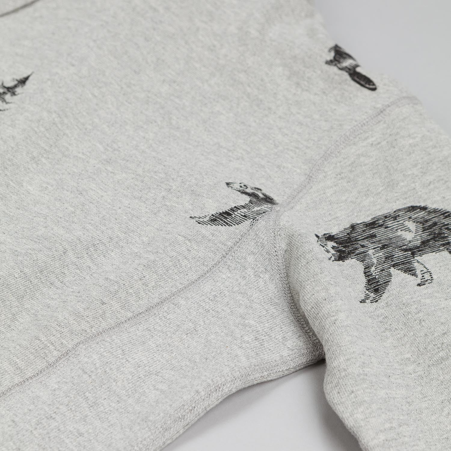 Raised By Wolves Trap Life Pullover Hooded Sweatshirt Heather Grey
