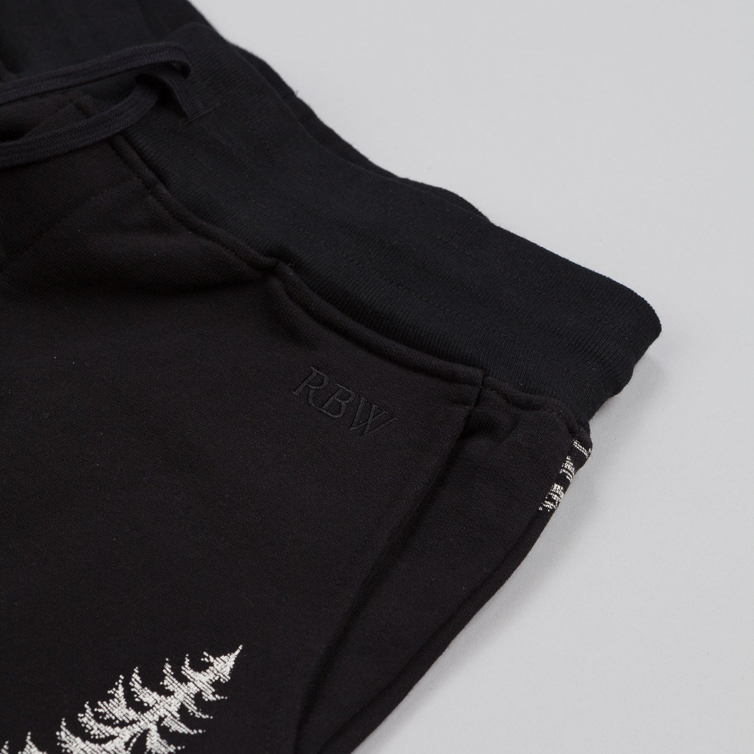 Raised By Wolves Trap Life Sweatpants Black