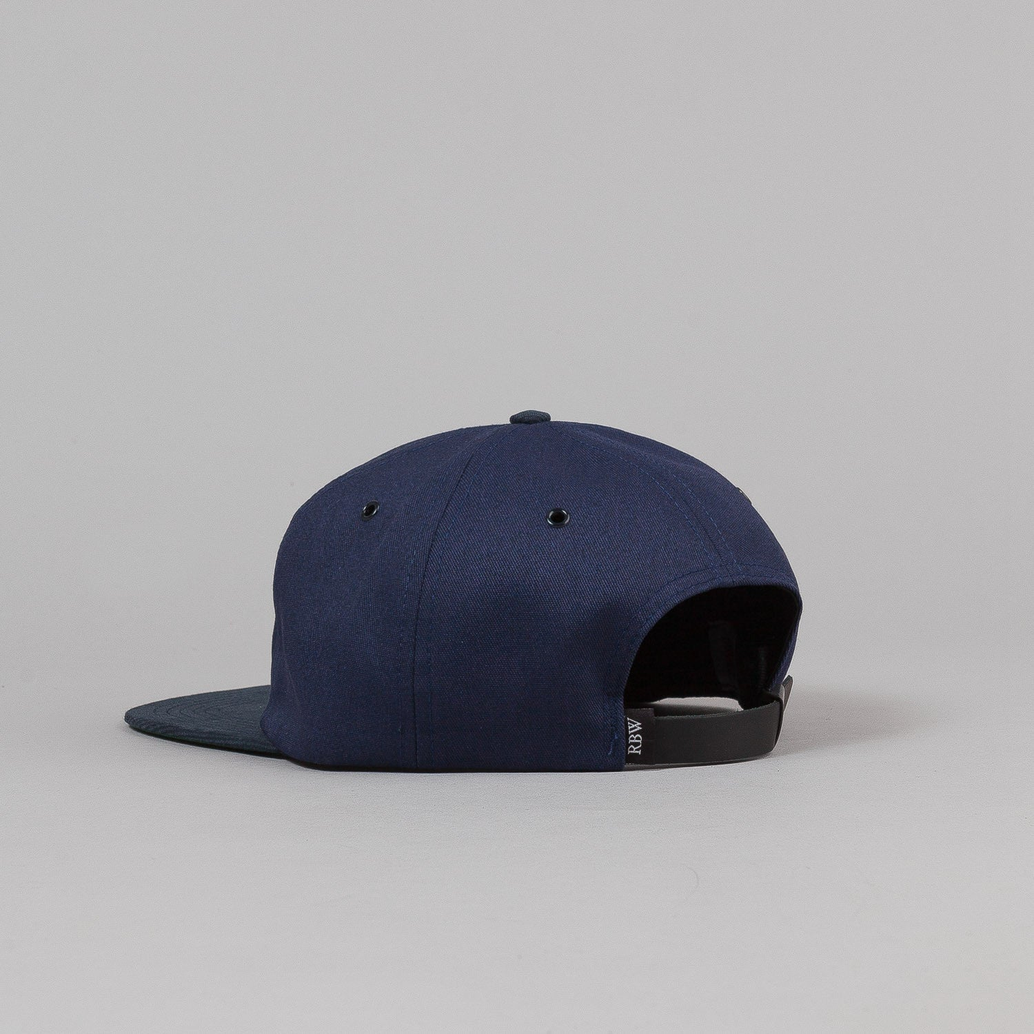 Raised By Wolves Varsity Pennant Polo Cap - Navy