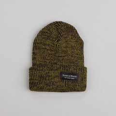 Raised By Wolves Watch Cap Marled Olive