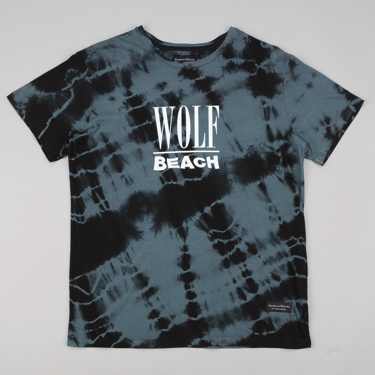 Raised By Wolves Wolf Beach T-Shirt
