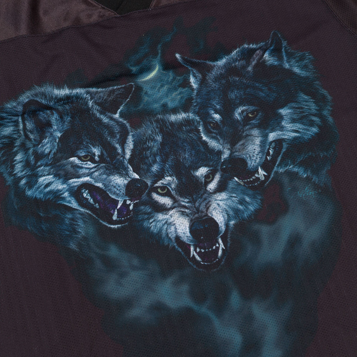 Raised By Wolves Wolfpack Jersey Black