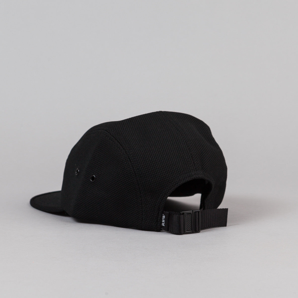 Raised By Wolves Algonquin Camp Cap - Black Diamond Knit