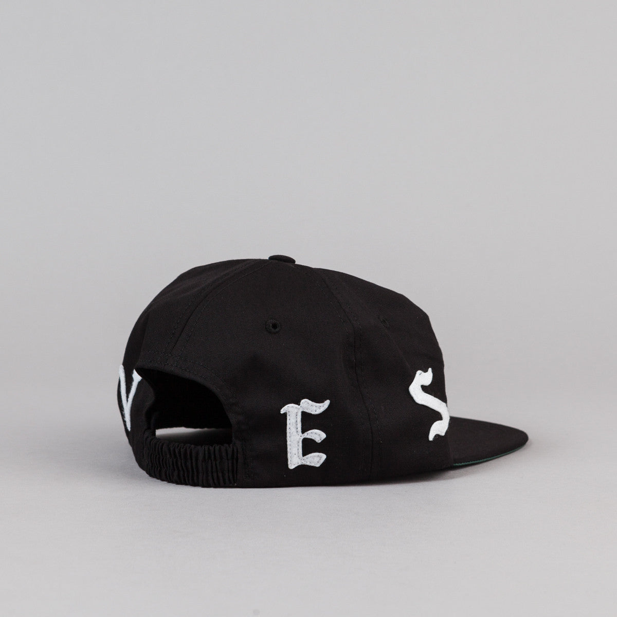 Raised By Wolves Flock Polo Cap - Black